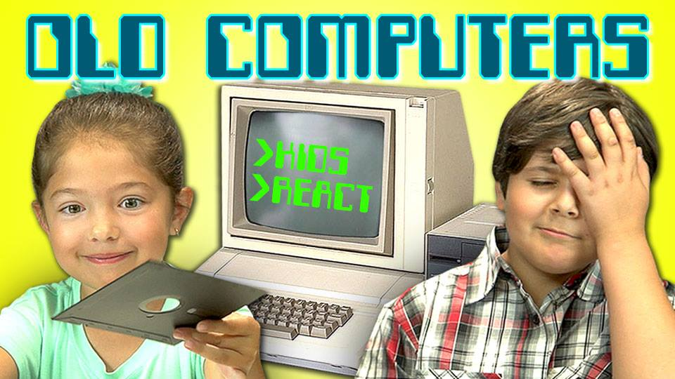 Kids react to technology (and make us feel old)   Your ...