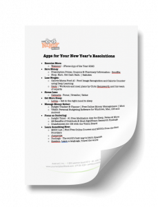 Apps for Your New Year's Resolutions PDF