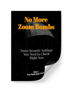 No More Zoom Bombs