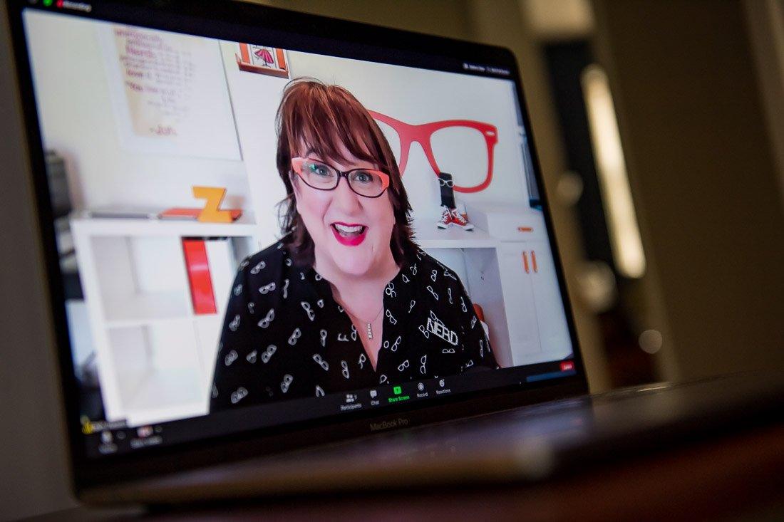 Beth Z Presenting an Engaging Virtual Workshop