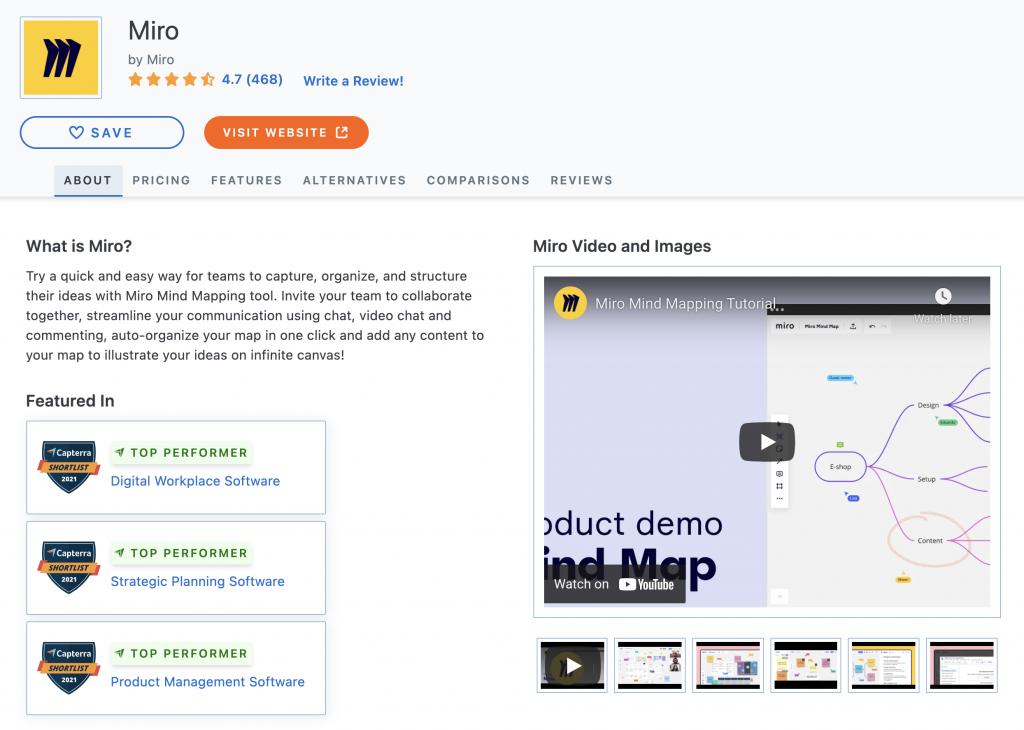 Capterra Software Information