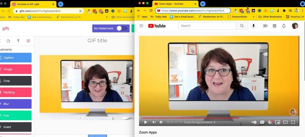 YouTube GIF hack
